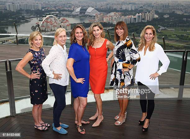 Legend Ambassadors Chris Evert of the United States Martina Navratilova of the United States Mary Pierce of France Monica Seles of the United States...