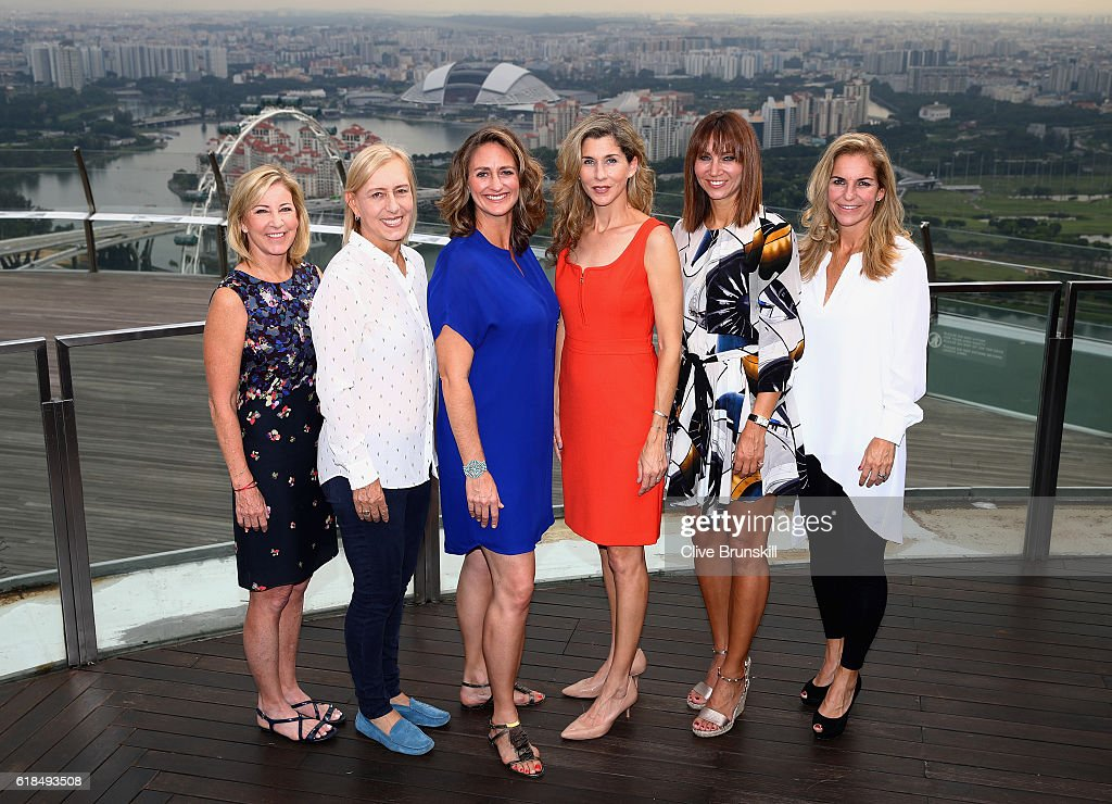 BNP Paribas WTA Finals: Singapore 2016 - Day Five : News Photo
