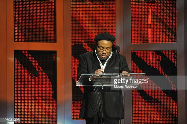 Legend Andre Crouch CoPresents Allstate James Cleveland Lifetime Achievement Award at the 26th Annual Stellar Gospel Music Awards at The Grand Ole...