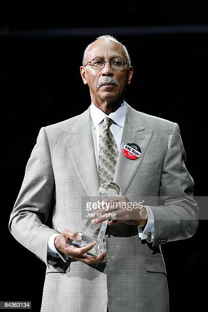 NBA legend Dave Bing accepts the National Civil Rights Museum Sports Legacy Award on January 19 2009 at FedExForum in Memphis Tennessee NOTE TO USER...