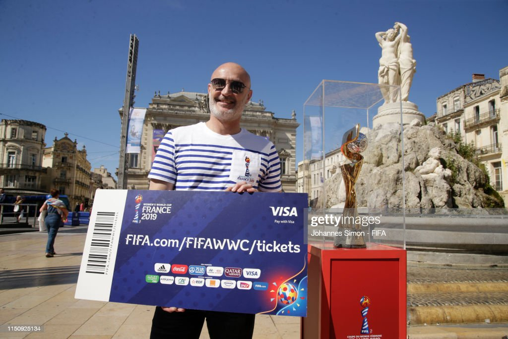 FRA: National Trophy Tour: Montpellier - FIFA Women's World Cup France 2019