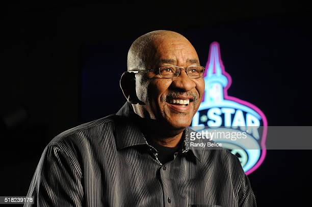 NBA legend George Gervin attends the NBA Legends Brunch as part of NBA AllStar 2016 on February 14 2016 in Toronto Ontario Canada NOTE TO USER User...