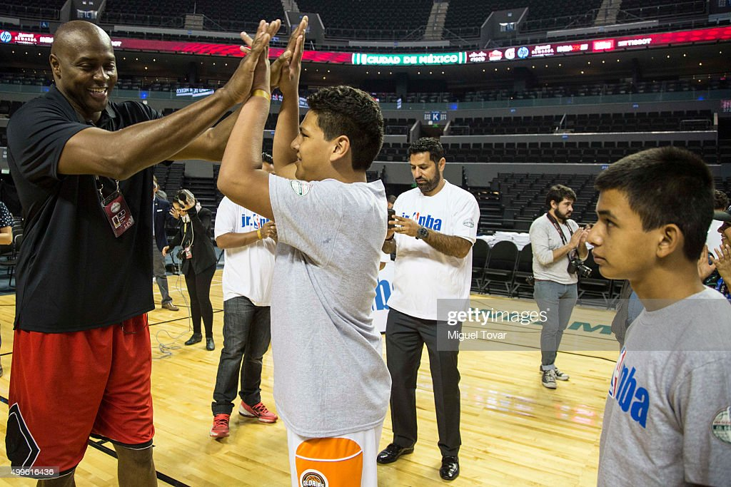 NBA Global Games Mexico 2015 - Training Sessions