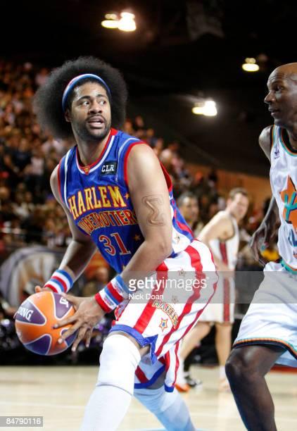 3b0de9b02222 NBA legend Julius Erving plays during the McDonald s AllStar Celebrity Game  held at the Phoenix Convention