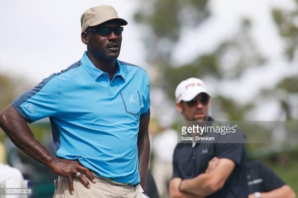 9467b6bbd6 ... Phelps wait to hit during ARIA Resort. ARIA Resort & Casino's 12th  Annual Michael Jordan Celebrity Invitational At Shadow Creek In North Las  Vegas ...
