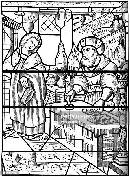 Legend of the Jew of the Rue des Billettes Paris 14th century A Jew allegedly pierced the holy wafer with his knife Accusations of host desecration...