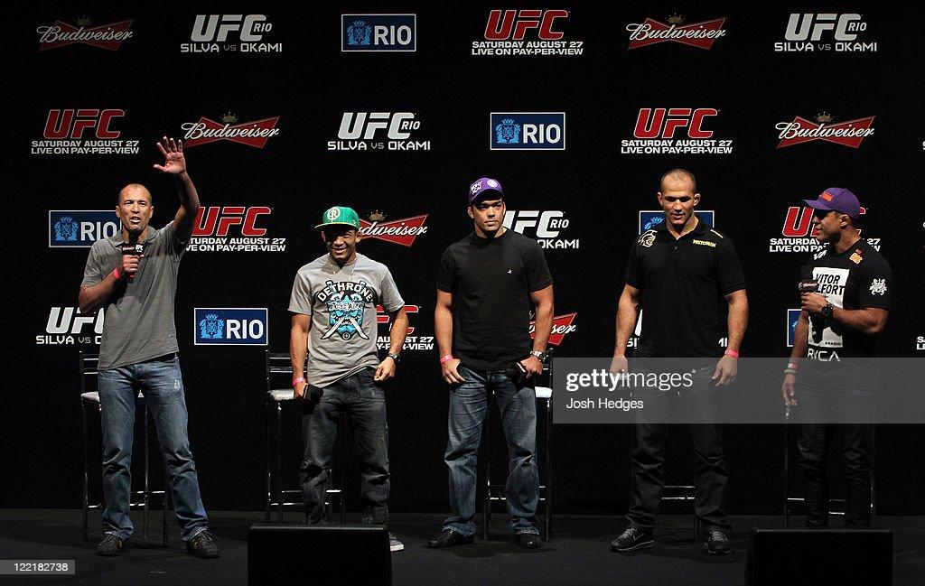 UFC 134: Weigh-In