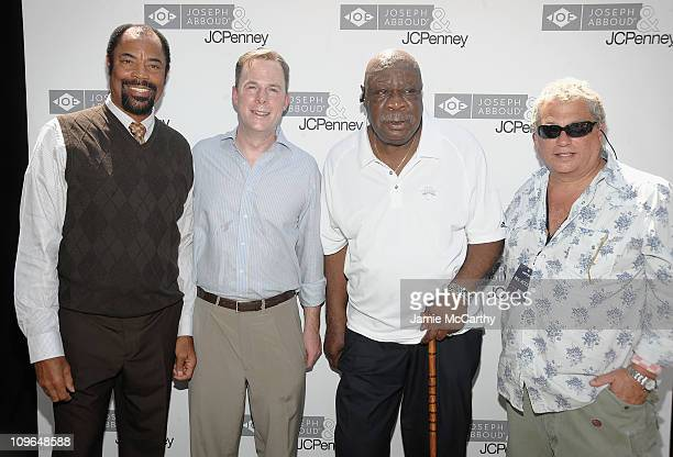 NBA Legend Walt Clyde FrazierPatrick Murphy of Mayor Bloomberg's Office NBA Legend Cal Ramsey and Marty StaffPresident and CEO of JA Apparel Corp...