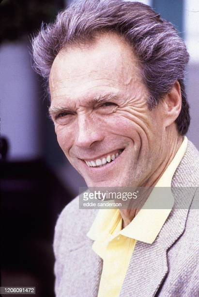 Legendary actor, producer and director, Clint Eastwood in the seaside town of Carmel, California, January 1987, after becoming the mayor of the town.