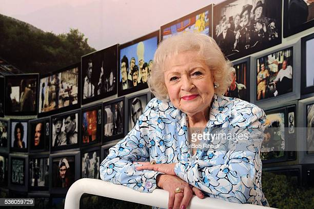 Legendary actress Betty White during portrait session on March 29 2011 at the Museum of Radio and TV in Los Angeles California White talked about her...