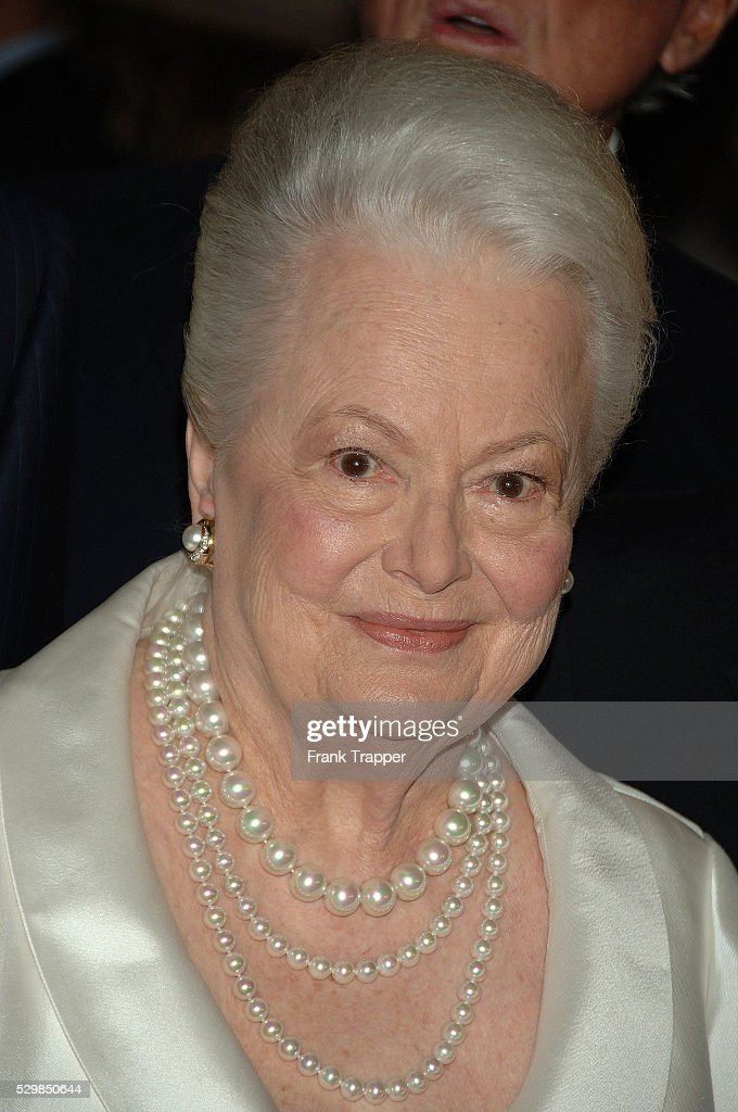 USA - The Academy of Motion Picture Arts and Sciences - Tribute to Olivia de Havilland : News Photo