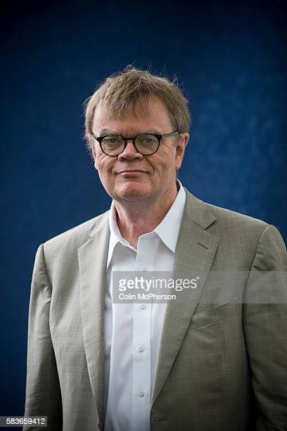 Legendary American author Garrison Keillor attends the Edinburgh International Book Festival where he made two special appearances to talk about his...