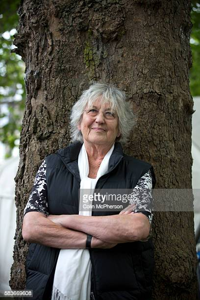 Legendary Australian feminist writer Germaine Greer pictured at the Edinburgh International Book Festival where she talked about her new book...