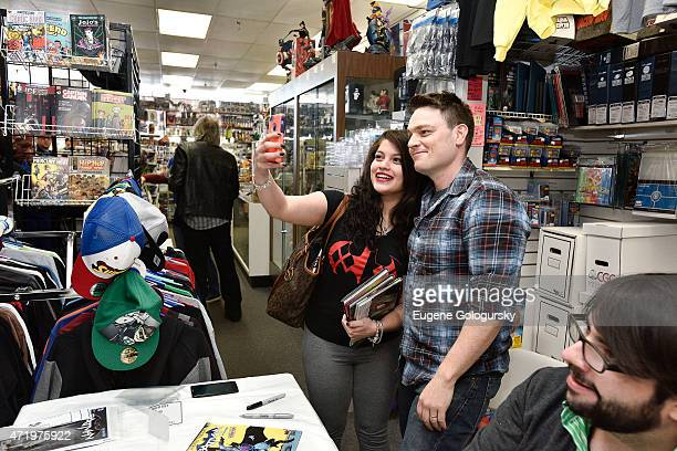 Legendary Batman Writer Scott Snyder with fan Signing For DC Comics Free Comic Book Day Special Issue at Fourth World Comics on May 2 2015 in...