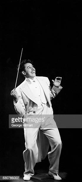 Legendary Big Band leader Cab Calloway who got his big break in 1929 when he first played at the Cotton Club in Harlem wearing a white tuxedo with...