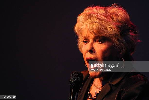 Legendary Hollywood and Broadway actress Janis Paige sings during her comeback show for her 88th birthday at the Gardenia Lounge in Hollywood on...