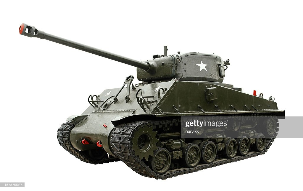 Legendary M4 Sherman Tank : Stock Photo