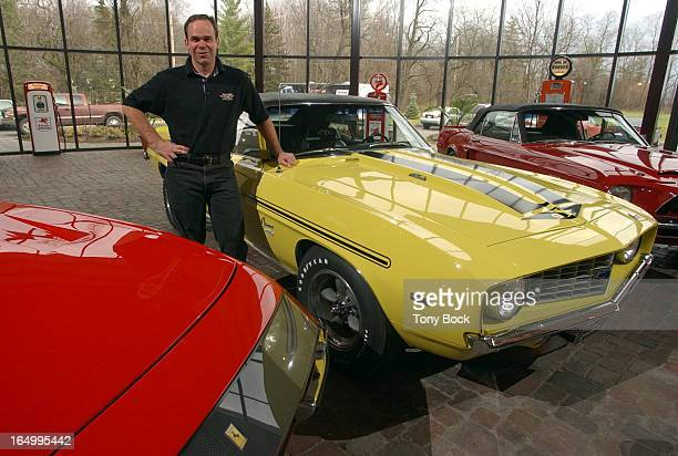 KLUTT 11/12/03 Legendary Motorcar Near Milton run by Peter Klutt restores and displays fast cars specializing in '60's musclecars Klutt in the...