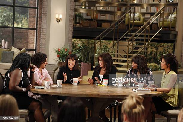 Legendary music journalist and author Lisa Robinson sits down with THE TALK hosts Tuesday June 10 2014 on the CBS Television Network From left Sheryl...