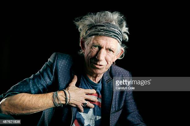 Legendary musician Keith Richards is photographed for Los Angeles Times on September 5, 2015 in New York City. PUBLISHED IMAGE. CREDIT MUST BE:...