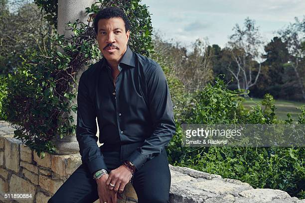 Legendary musician Lionel Richie is photographed for Legend Magazine on February 1 2016 in Beverly Hills California