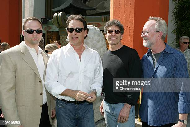 Legendary Pictures and Exec Producer Thomas Tull Producer Tom Hanks and Warner Bros Alan Horn and Producer Gary Goetzman