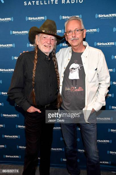 Legendary Recording Artist Willie Nelson and Album Producer Buddy Cannon arrive at his album premier on April 4 2017 in Nashville Tennessee