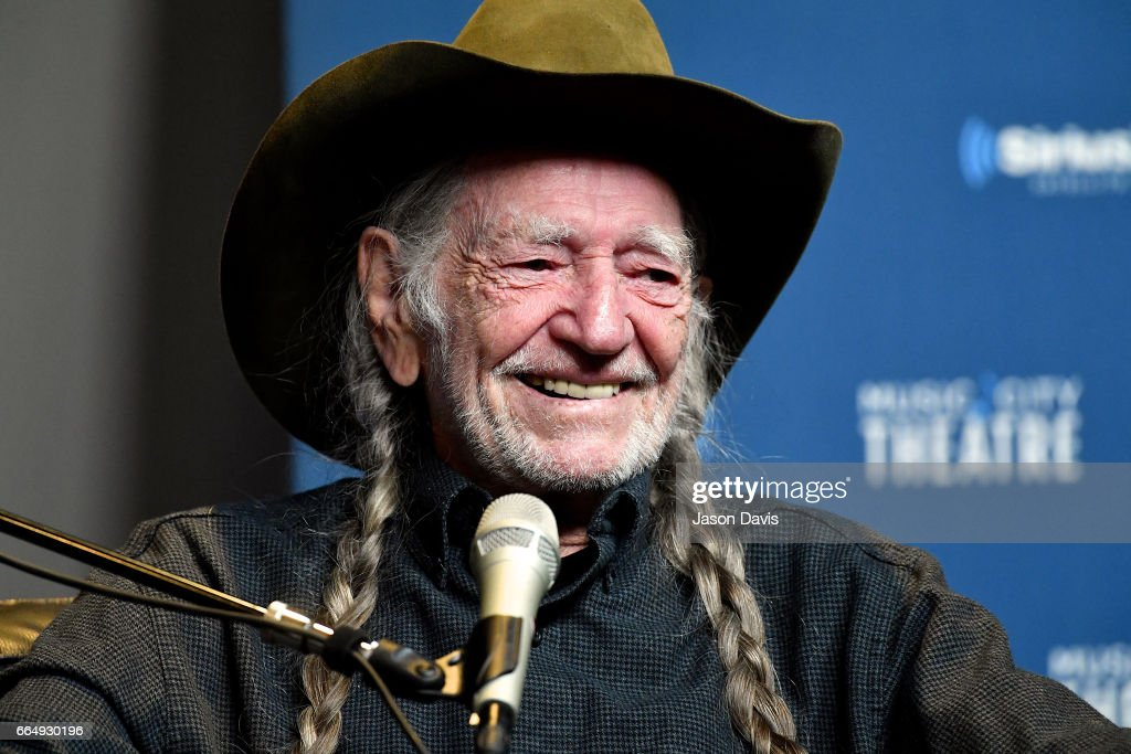 "Willie Nelson Discusses ""God's Problem Child"" During An Album Premiere Special On His SiriusXM Channel Willie's Roadhouse At SiriusXM's Music Theatre In Nashville"