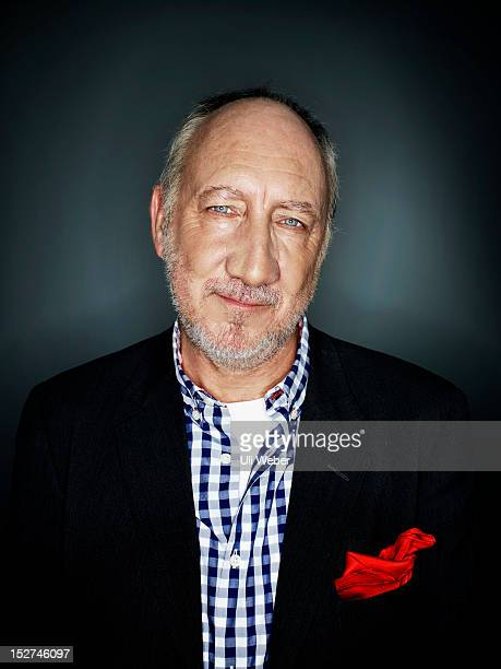 Legendary rock star and guitarist Pete Townshend is photographed for Intelligent Life magazine on March 22 2011 in London England