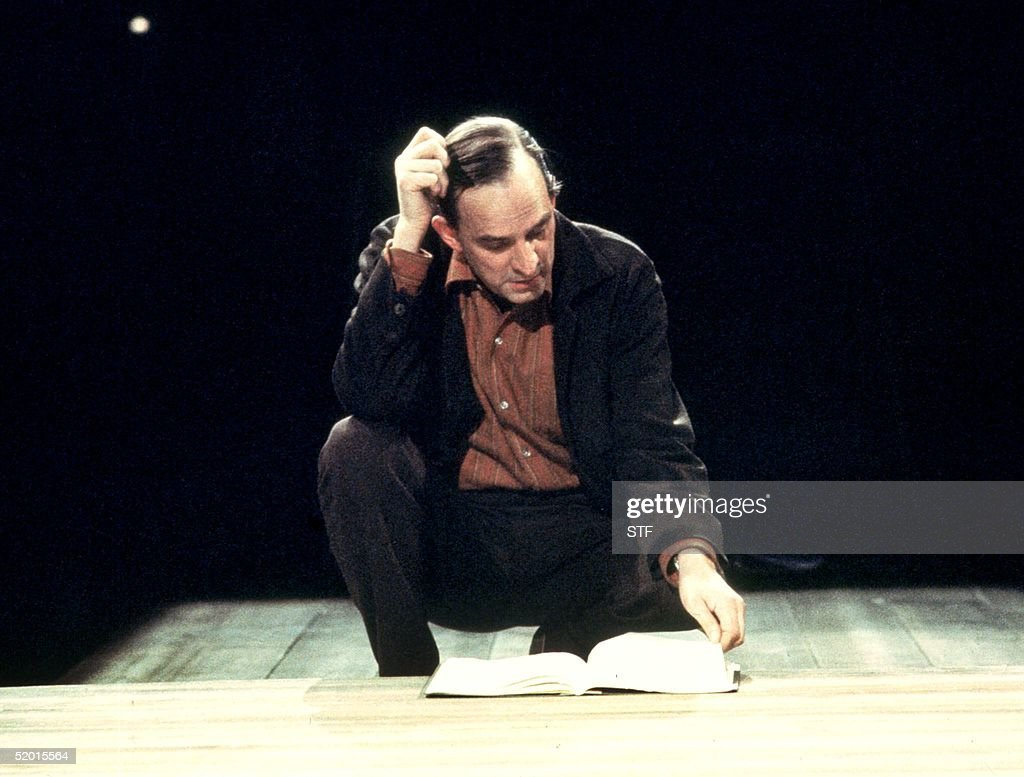 Legendary Swedish director Ingmar Bergman shown in a undated photo studying a script during a rehearsel. Bergman is due to turn 80 years-old on 14 July 1998.