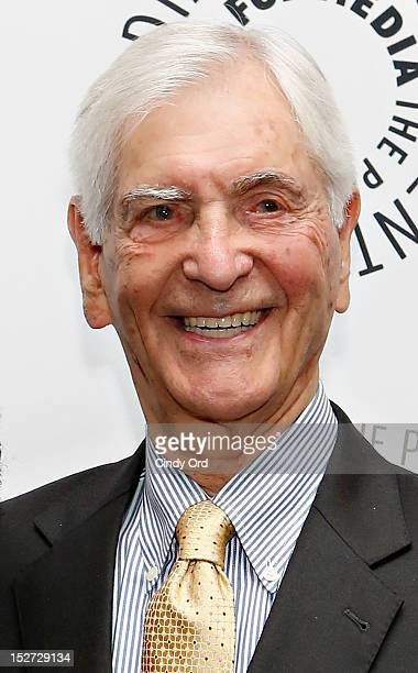 Legendary television host Sonny Fox attends Sonny Fox Forty Years In Television A Conversation With Whoopi Goldberg at The Paley Center for Media on...