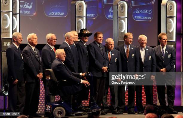 NASCAR legends Leonard Wood Junior Johnson Dale Inman Maurice Petty Ned Jarrett Dale Jarrett Richard Petty Bud Moore Jack Ingram Rusty Wallace Bobby...