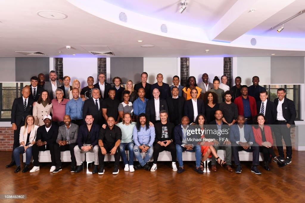 The Best FIFA Football Awards - Legends Think Tank Meeting