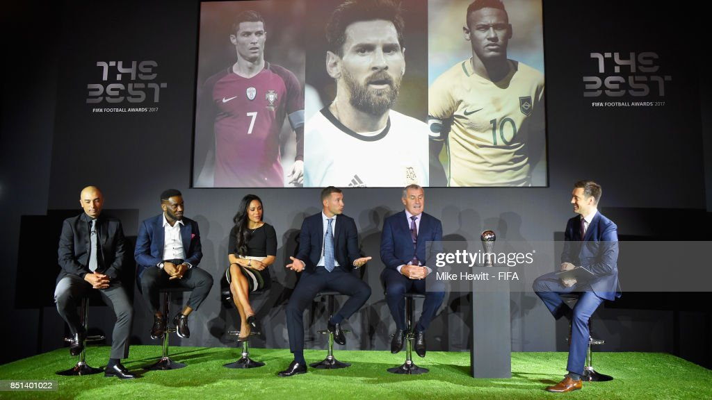 The Best FIFA Football Awards 2017 - Press Conference : News Photo