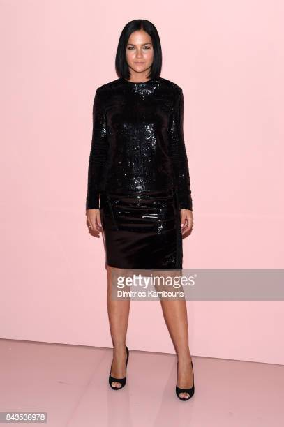 Legh Lezark attends the Tom Ford Spring/Summer 2018 Runway Show at Park Avenue Armory on September 6 2017 in New York City