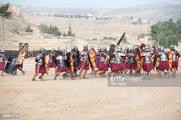 Legion attacco-Jerash, Giordania