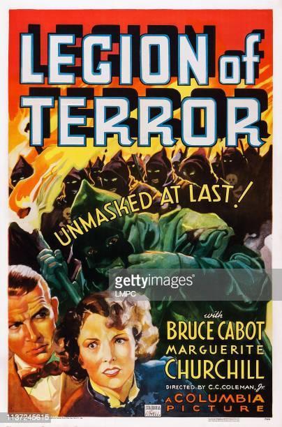 Legion Of Terror poster US poster art from left Bruce Cabot Marguerite Churchill 1936