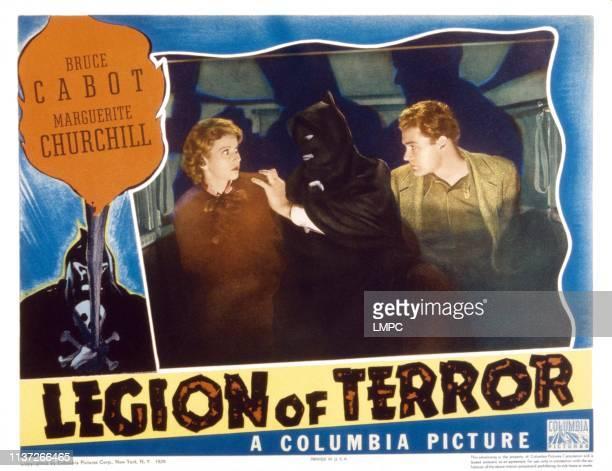 Legion Of Terror US lobbycard Marguerite Churchill Crawford Weaver 1936