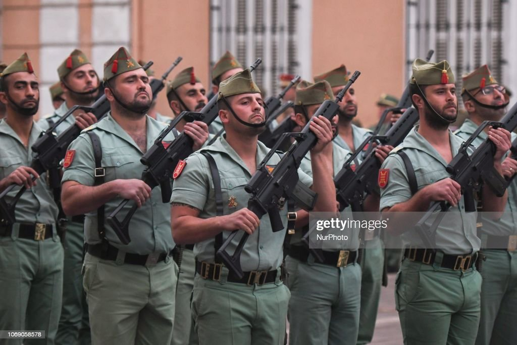 40th Anniversary Of Spanish Constitution Celebrated In Melilla : News Photo