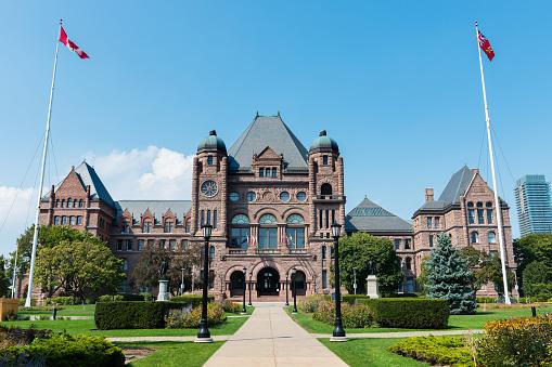 Legislative Assembly of Ontario in Toronto, Canada 498170464