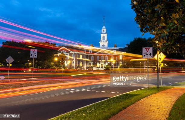 ドーバー、デラウェア州 (国会議事堂の建物) の立法ホール - 地方庁舎 ストックフォトと画像