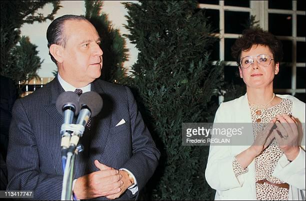 Legislatives Meeting RBarre CBoutin On January 29rd 1986 In France