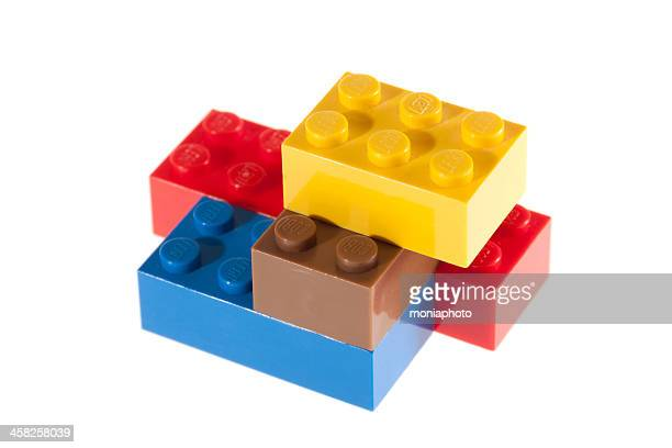 lego bricks - lego stock pictures, royalty-free photos & images