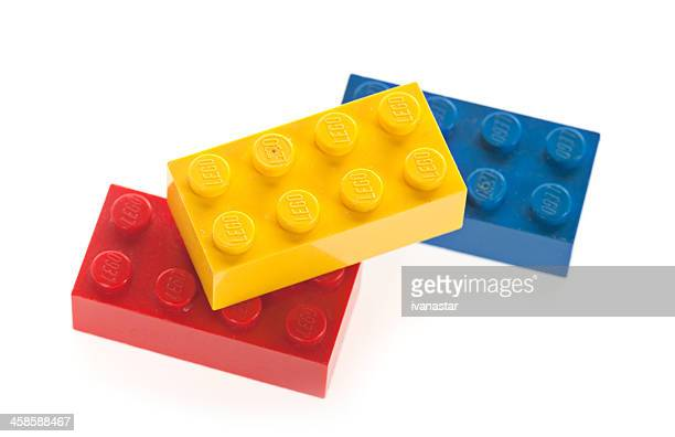 lego building block bricks - lego stock pictures, royalty-free photos & images