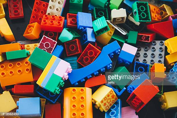 lego building bricks and blocks - lego stock pictures, royalty-free photos & images