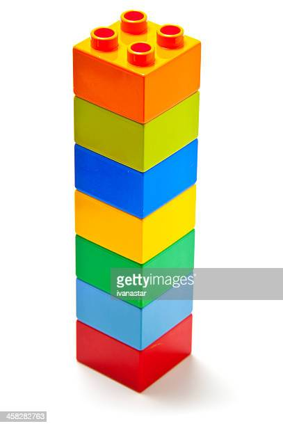 lego building bricks and interlocking blocks - lego stock pictures, royalty-free photos & images