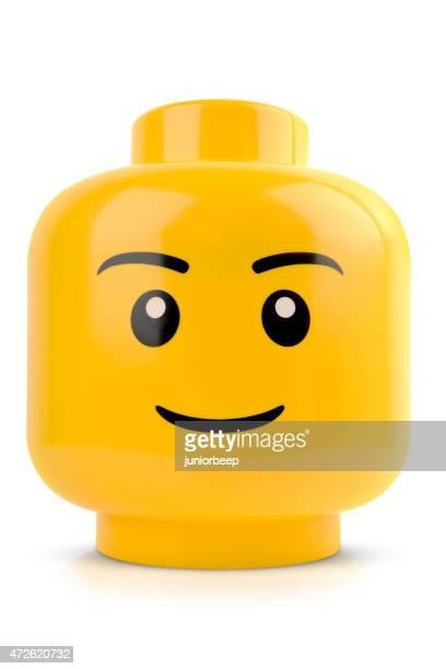 Lego head Nahaufnahme