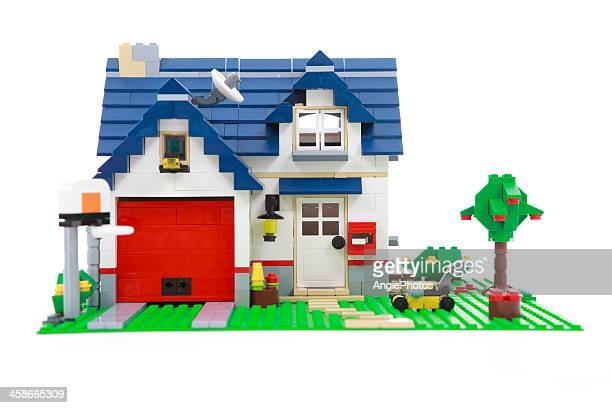 lego house - lego stock pictures, royalty-free photos & images