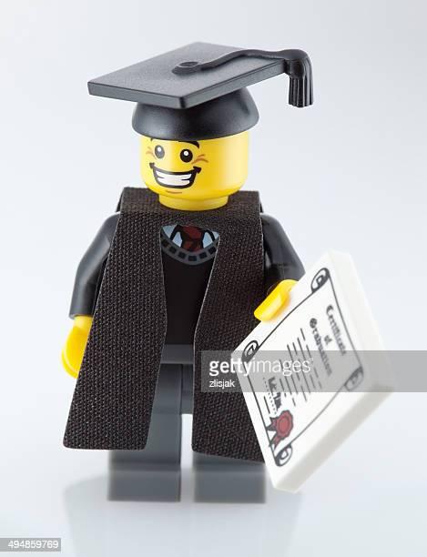 Lego Minifigure: Graduate
