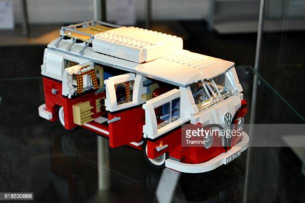 Lego model of Volkswagen T1 Bulli